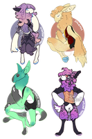 ::Auction:: - Pawbirds (CLOSED) by PhloxeButt