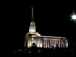 Oquirrh Mountain LDS Temple by Ericseye