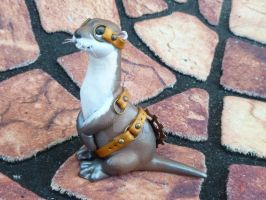 Steampunk River Otter 2 by MysticReflections