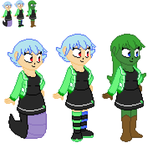 Aelita Sprites by FK-Central