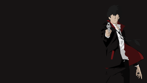 Shinya Kougami Vector by DukeofDunkshire