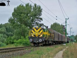 M40 402 with freight in Gyor in august, 2010 by morpheus880223