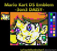Mario Kart DS Emblem : -3on3-DAISY- by LeTourbillonEnchanT