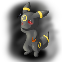 Little Umbreon by Lekisceon