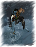 Loki-Master of the Ice by LadyMintLeaf