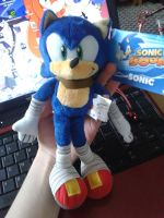 Sonic boom Plushie by CobaltPie