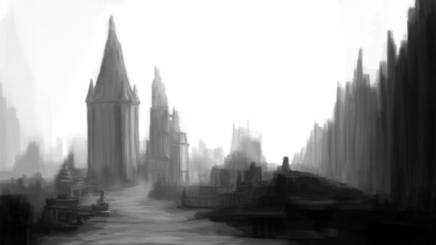 Dark City by Balgorr