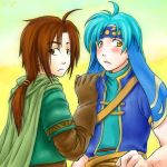 Golden Sun- Felix and Piers by Shin-Wolf