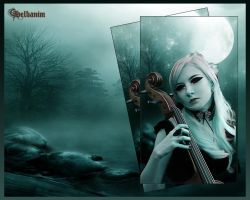 violonceliste by helbanim