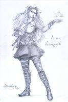 Luna Lovegood. Steampunk Style by MadelineSlytherin