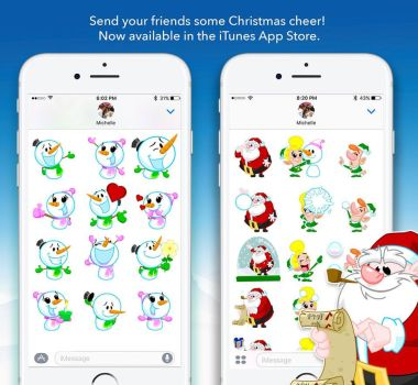 Animated iMessage sticker packs by nsaabye