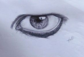 Marilyn's Eye by Miss-Red-In-Hell