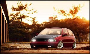 Bagged Polo GTi by tom91x