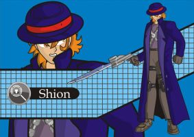 Shion the detective by Oriebir
