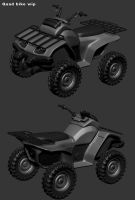 Quadbike wip by digitalinkrod