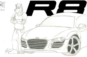 Marco and the R8 by Zaper3095