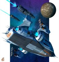 Task Force at Callisto by Rob-Caswell