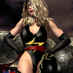 Cospaly Ms Marvel vs Naomi 494 by CalvadosJapan