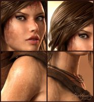 Lara Croft... Details by Pitoxlon