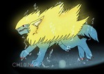 Manectric by Ink--Beast