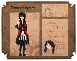 Time Keeper App: Alyss (Chaser) by Lemonthrower