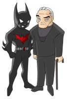 Batman Beyond - Chibis by mishieru