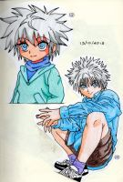 Hunter X Hunter - Killua 2 by asha0