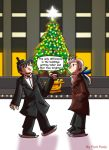 Two old farts skating by fiori-party