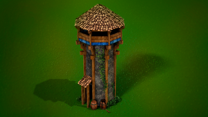 Age of empires Tower by AitorPerez