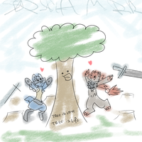 Tree is love, Tree is life by 50tonsdemim