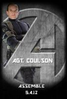 Avengers Standee: Agt. Coulson by Marvel-Freshman