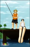 A Summer's Day Spent Fishing by CeciliaSal