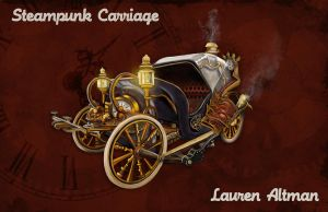 Steampunk Carriage by DarkPrincessLauren