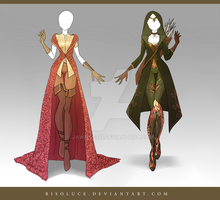 (CLOSED) Adoptable Outfit Auction 117-118 by Risoluce