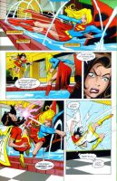 Supergirl versus Mary Marvel 3 by ArchiveSW
