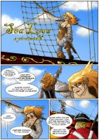 Sea Legs page 1 by SuiZ