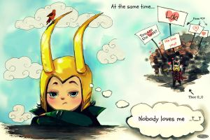 Loki, we love you XD by DZIU09