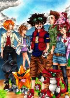 Digimon Xros Wars by Shiita