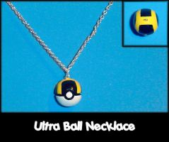 Ultra Ball Necklace Charm by YellerCrakka