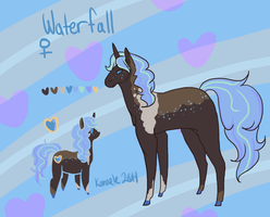 Waterfall Reference Sheet by Kama-ItaeteXIII