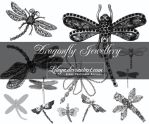 Dragonfly Jewellery by Lileya