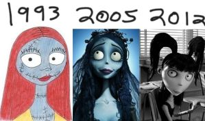 Tim burton: Girls by SamApeace