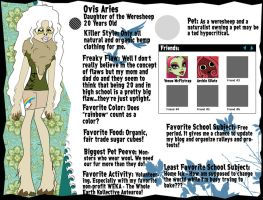 Ovis Aries Bio by Shimmeree13
