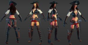 Rogue Realtime game asset by ebagg