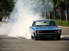 Dodge Dart Burnout by AmericanMuscle