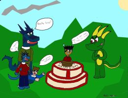 GIFT: Happy B-Day Anthrus by C-MaxisGR