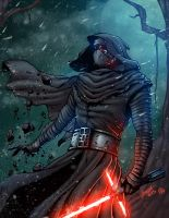 Kylo Ren - colors by ZethKeeper