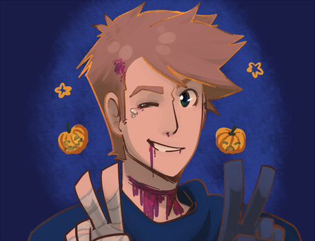 Spoopy dead sargeant by wapy
