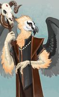 Mr. Vulture by Aazure-Dragon