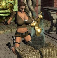 Lara and the Temple of Boobs by Chup-at-Cabra